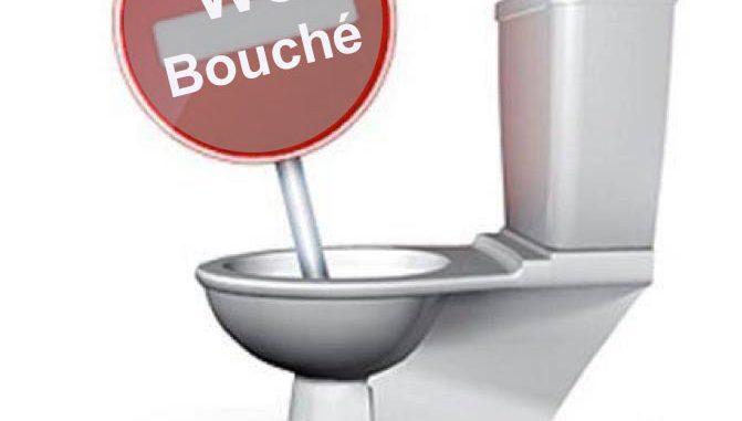 WC bouché 95