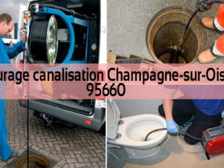 Curage canalisation Champagne-sur-Oise 95660