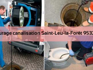 Curage canalisation Saint-Leu-la-Forêt 95320