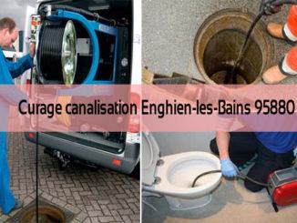 Curage canalisation Enghien-les-Bains 95880