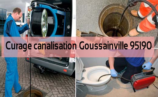 Curage canalisation Goussainville 95190