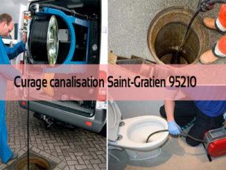Curage canalisation Saint-Gratien 95210