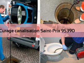 Curage canalisation Saint-Prix 95390