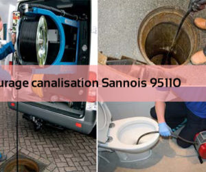 Curage canalisation Sannois 95110