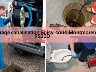 Curage canalisation Soisy-sous-Montmorency 95230