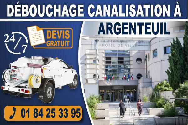 debouchage-canalisation-Argenteuil