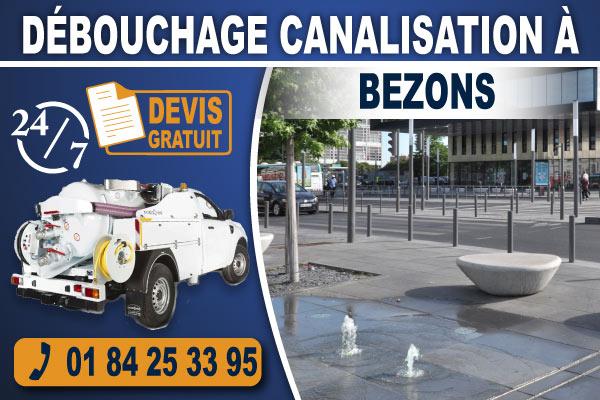 debouchage-canalisation-Bezons