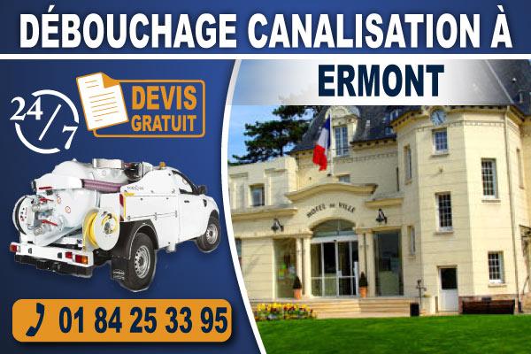 debouchage-canalisation-Ermont