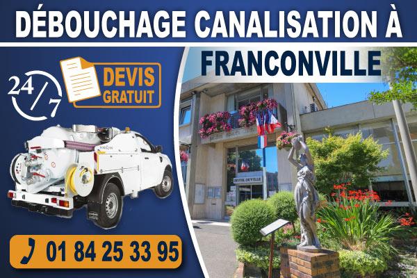 debouchage-canalisation-Franconville