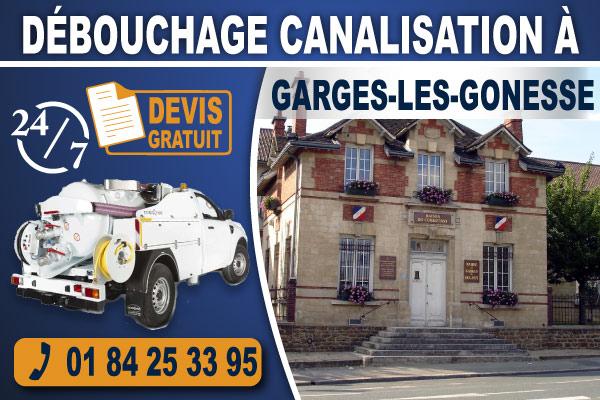 debouchage-canalisation-Garges-les-Gonesse