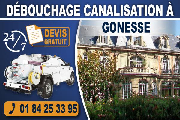 debouchage-canalisation-Gonesse