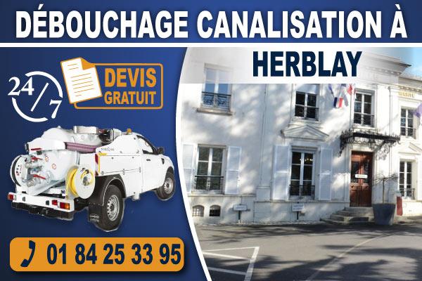 debouchage-canalisation-Herblay