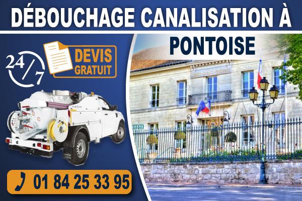 debouchage-canalisation-Pontoise
