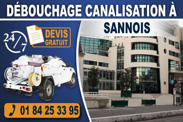 debouchage-canalisation-Sannois