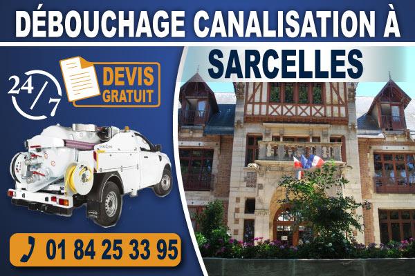 debouchage-canalisation-Sarcelles