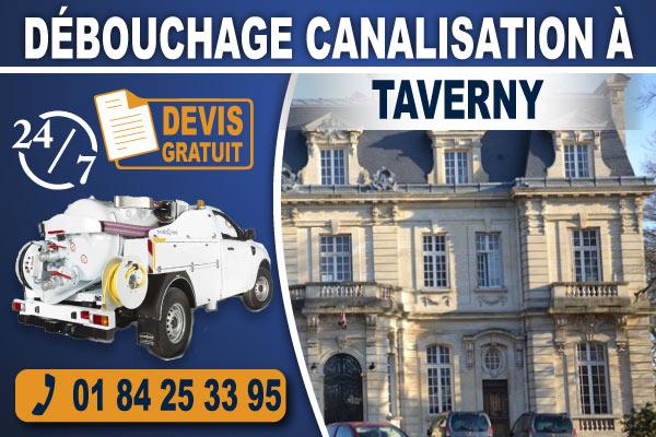debouchage-canalisation-Taverny